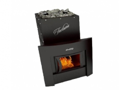 Печь для бани Grill'D Fortuna 280 window black